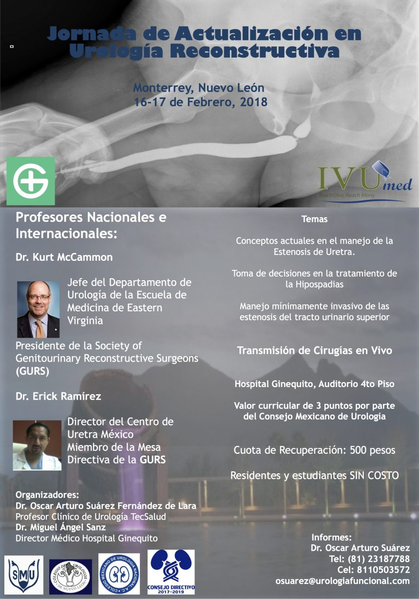 Jornada de Urología Reconstructiva 2018